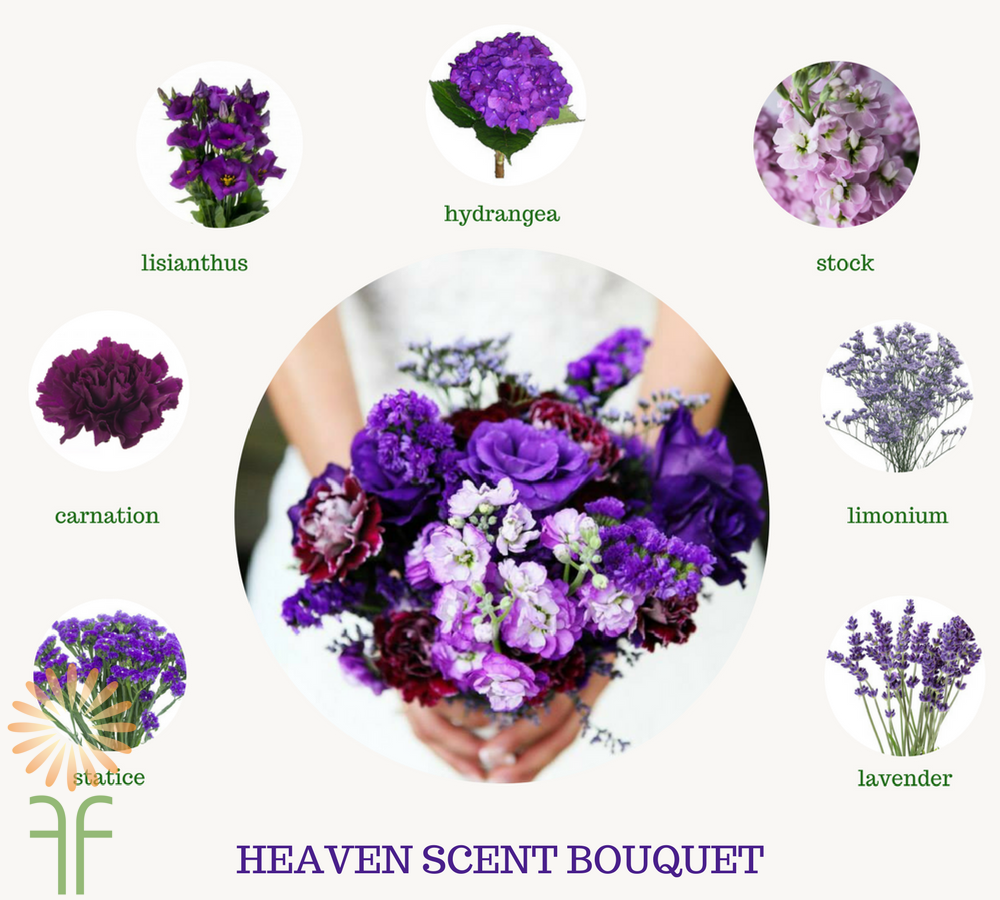 2018 Wedding Palette of the Year: Ultra Violet Bouquet