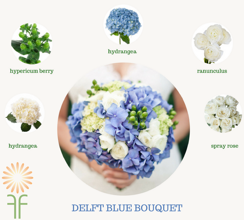 Wedding Flower Packages -Blue - Fabulous Florals