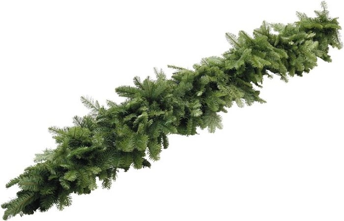 HOLIDAY DECOR NOBLE FIR GARLAND