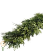 HOLIDAY DECOR- Mixed Garland- 75ft