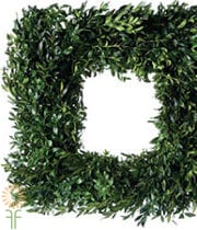 Wreath, Boxwood-square 24″