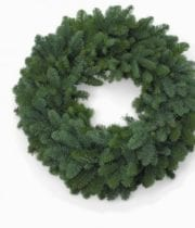 Wreath, Plain Noble 20″ X6