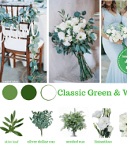 Green Wedding Flower Packages