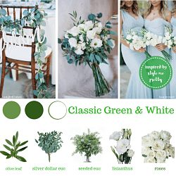 wholesale wedding packages green