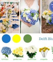 Delft Blue Wedding Flower Package