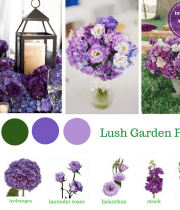 Purple Wedding Flower Package