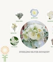 Bouquet Flower Packages – Silver
