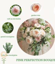 Garden Rose Bouquet Flower Package