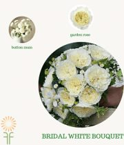 White Classic Bouquet Flower Package