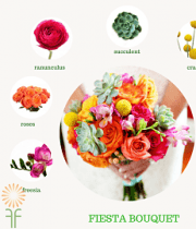 Bouquet Flower Package- Bright