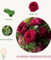 Summer Fresh Bouquet Flower Package