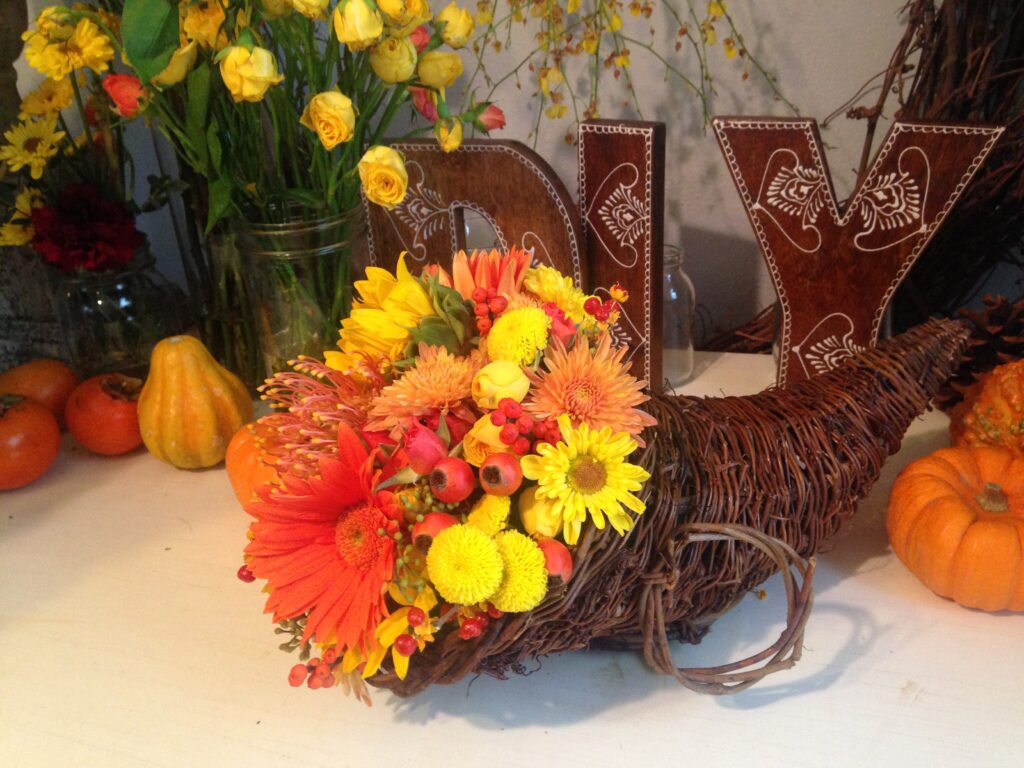 thanksgiving flowers delivered wholesale
