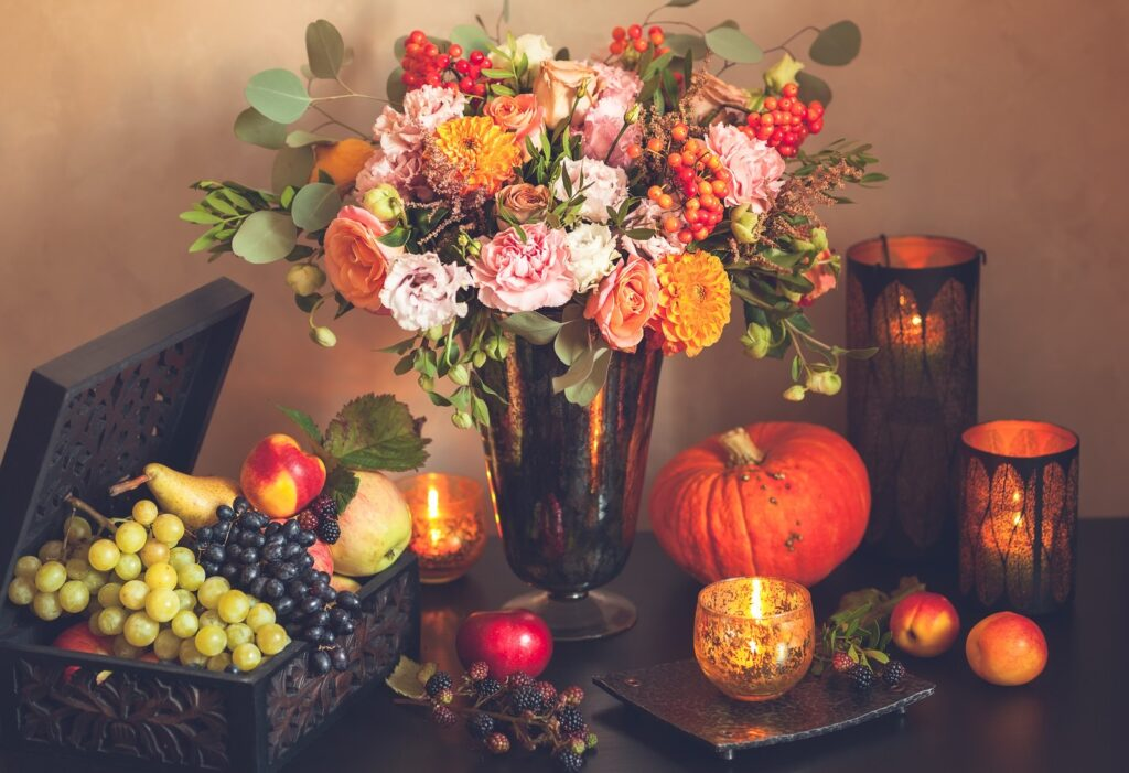 Wholesale Thanksgiving Flowers centerpiece
