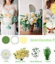 Gold Wedding Flower Packages