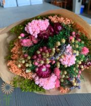 Pink Fantasy Dried Mixed Bouquet