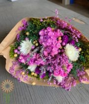 Violet Fantasy Dried Mixed Bouquet